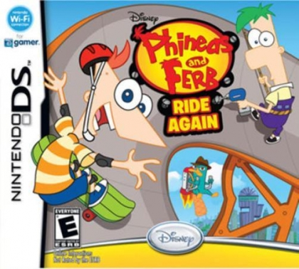 Phineas and Ferb : Ride Again - Nintendo DS (NDS) rom